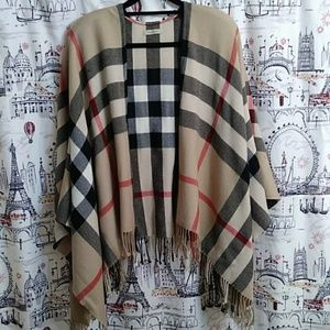 Authentic Burberry Wool Wrap